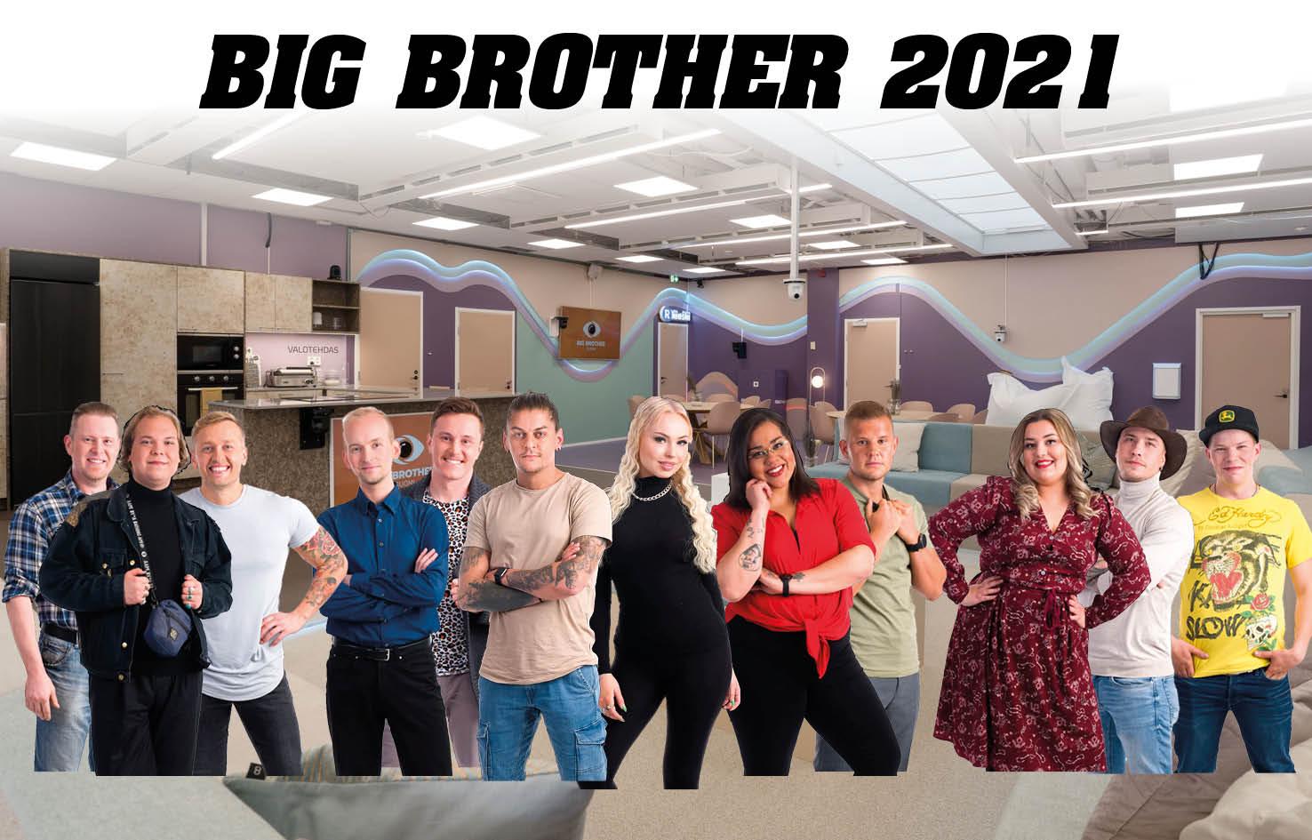 Big Brother 202116 KILPAILIJAA